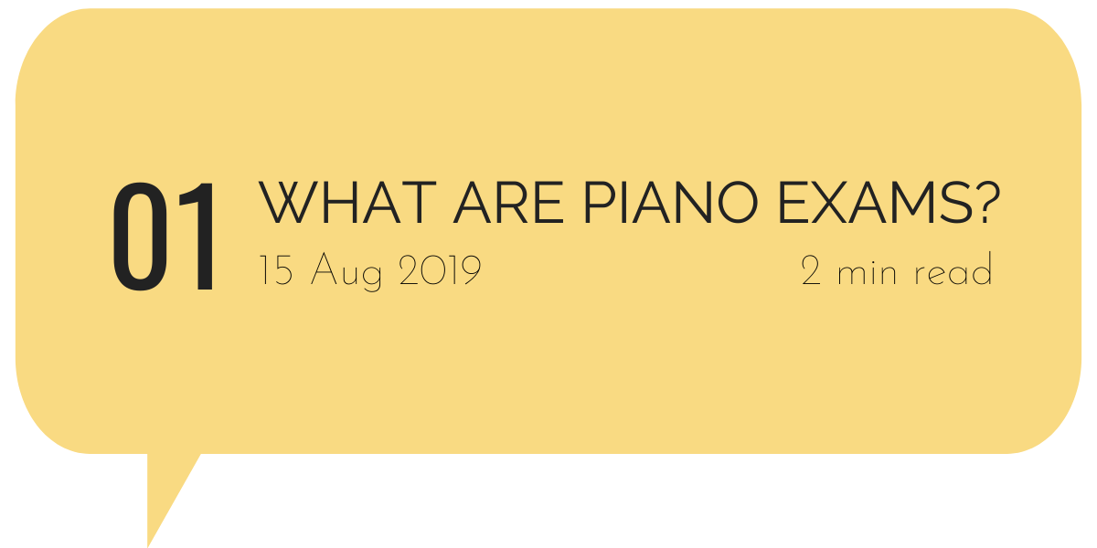 What are Piano Exams?
