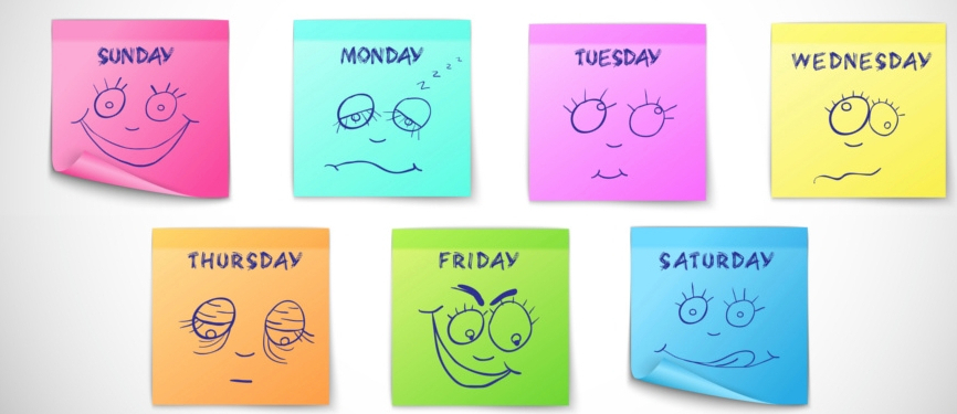 Days of the Week Faces
